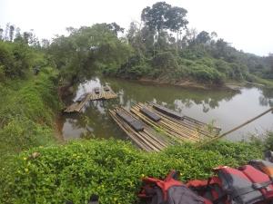 Bamboo rafts
