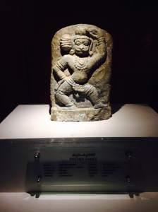 Dancing man sculpture