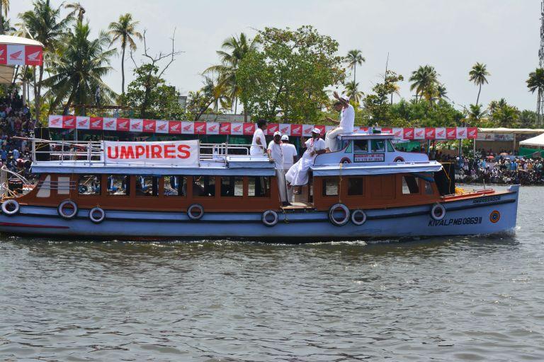 8 - umpires boat